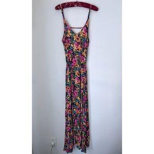 LA Hearts Tropical Floral Maxi Dress